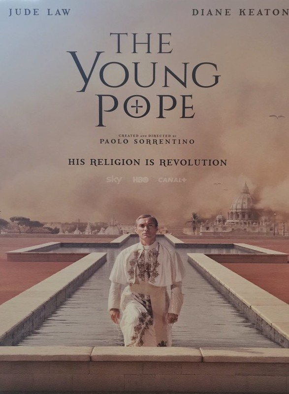 "TV serie ""The Young Pope"""
