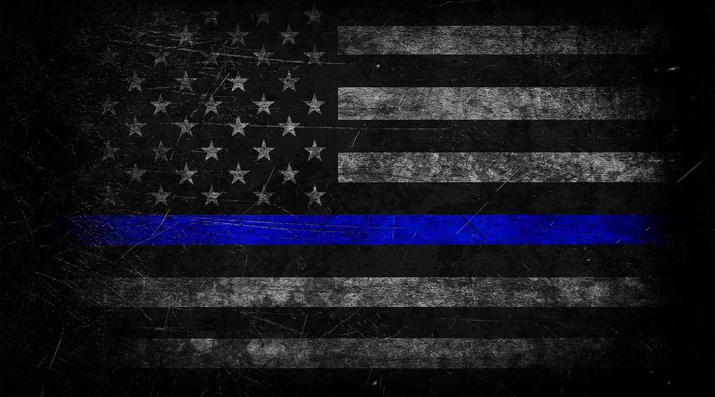 Thin Blue Line American Flag The Thin Blue Line Has