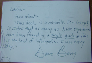 Postcard from Dave Barry | by Laura Erickson
