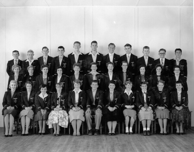 Section 3, Newcastle Teachers' College, NSW, Australia - 1957