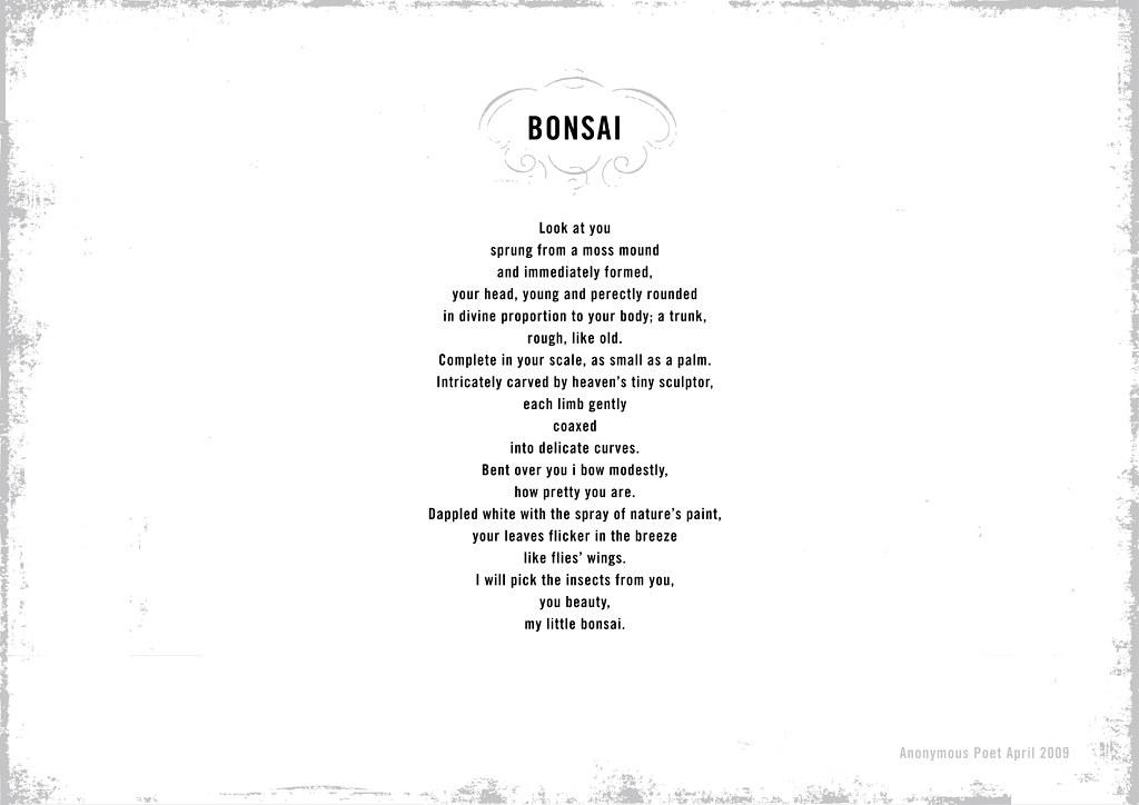 Anonymous Poem