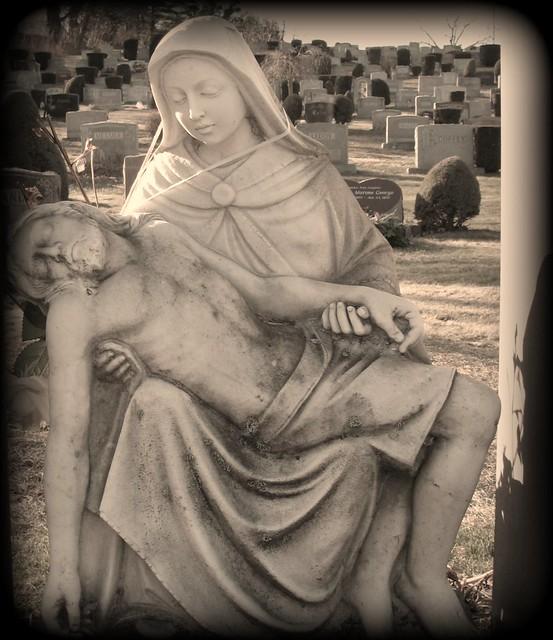 Hamden cemetery Pieta