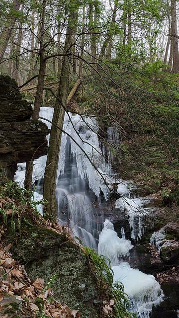 Silver Spray Falls, NJ