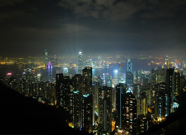 Hong Kong - The View from The Peak