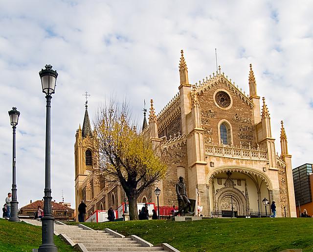 Iglesia de San Jeronimo el Real ( Madrid)