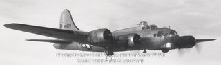 """B-17 44-8629 """"Purty Chili"""" on mission to Stendal Germany 14 Jan 1945 