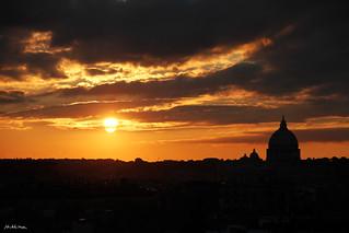 Roma Panorama Dalla Terrazza Del Pincio Www Michelamedda