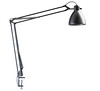 L-1 Task Light with table bracket, silver grey
