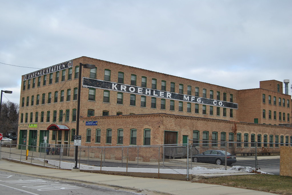 Kroehler Manufacturing Co Naperville Illinois Kroehler