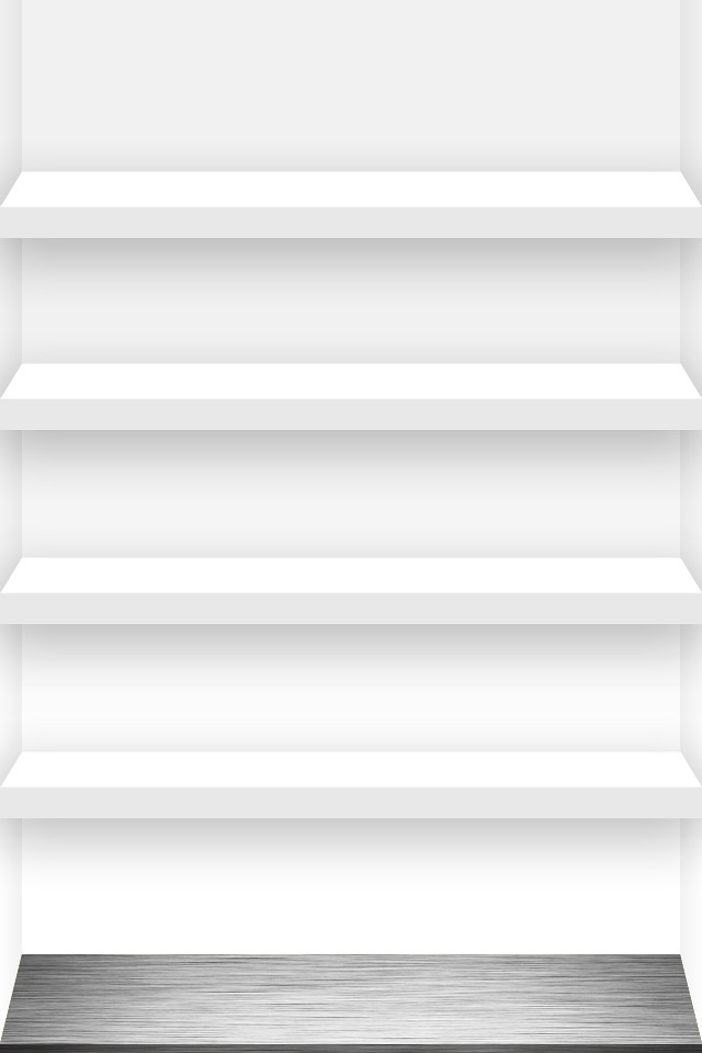 4 Shelf Iphone Wallpaper White Click A Link For The Full 4