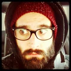 Snowy beard day