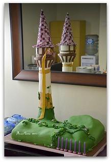 Pleasant Rapunzel Birthday Cake Nina Suriatmojo Flickr Birthday Cards Printable Inklcafe Filternl