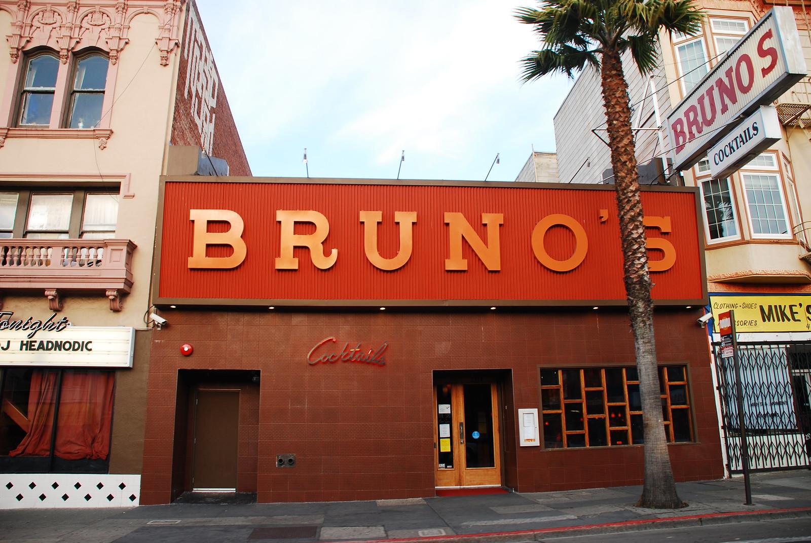 Bruno's on Mission St
