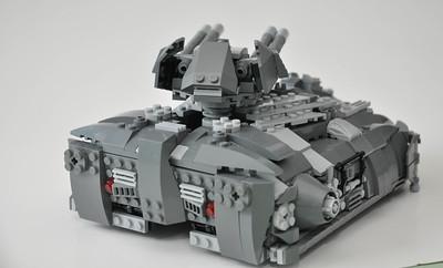Aspis Tank - Back