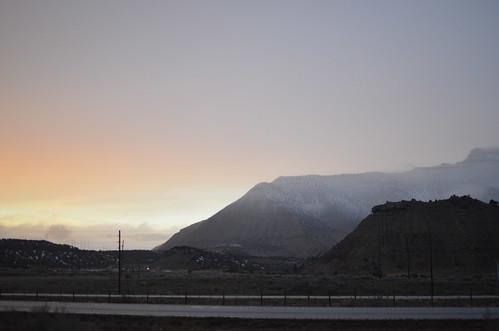 sunset mountain nikon colorado d7000