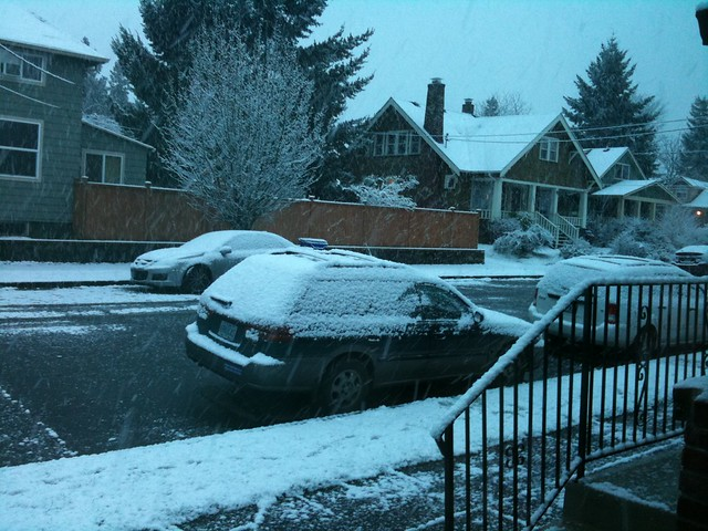 Portland Snowpocalypse 2011