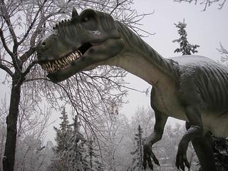 Allosaurus, thinking dinner thoughts
