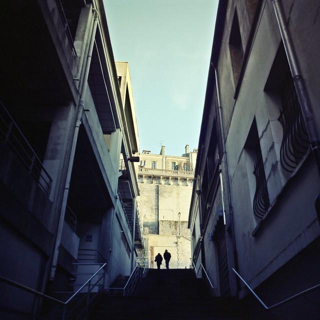 2 touristes à Poitiers