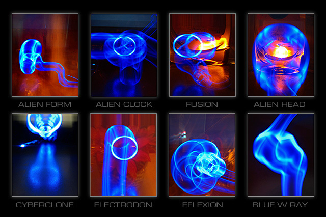 Painting with Led Lights