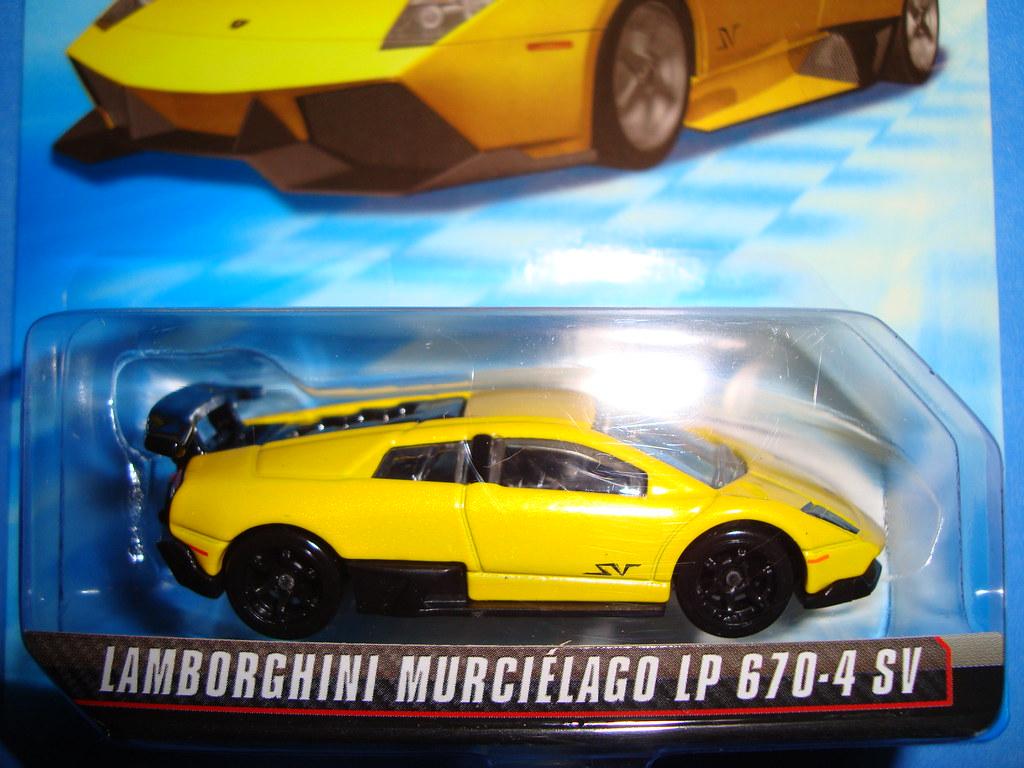 Lamborghini Murcielago Lp670 4 Sv Hotwheels Speed Machine Flickr