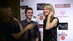 Kathryn Morris and Kyle Gallner at the Premiere of Cougars Inc. IMG_8012at the Premiere of Cougars Inc. IMG_8000