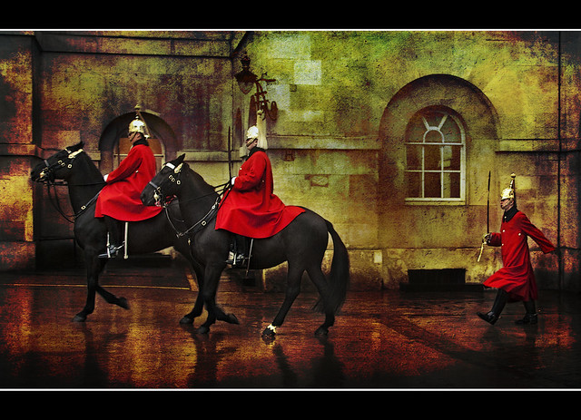 London - Whitehall - Horse guards 2