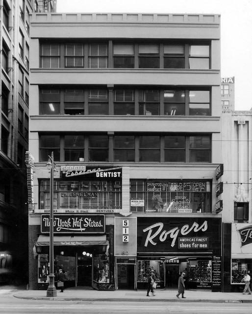 L.A. - S. Broadway, 1957