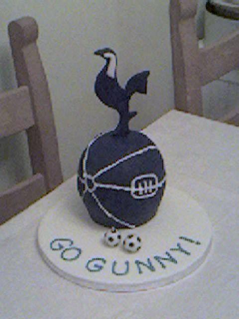 Tottenham Hotspur Cake Birthday Cake 2008 I Call This The Flickr