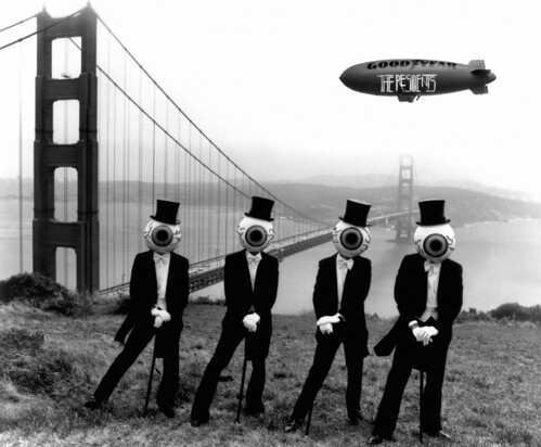The Residents at Golden Gate Bridge(Original Print)