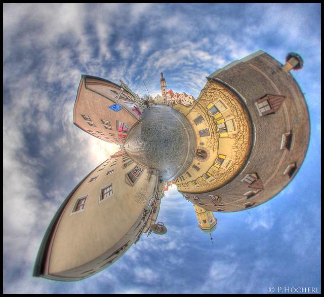 Little Planet - Neben dem alten Rathaus Weiden
