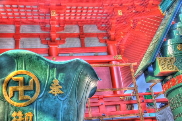 Sensoji Temple - Close up