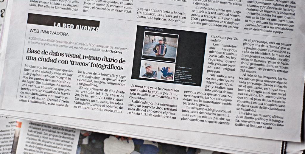 """...vallapeople... iNNOVADORES """"El Mundo"""" 21 de Febrero 2011 by DANiMANTiS"""