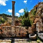 Fountain near the Mithraeum
