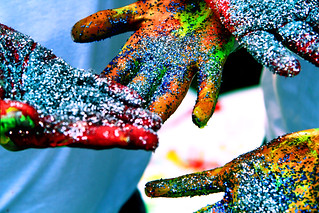 Paint and Glitter | by Chelsea Purgahn