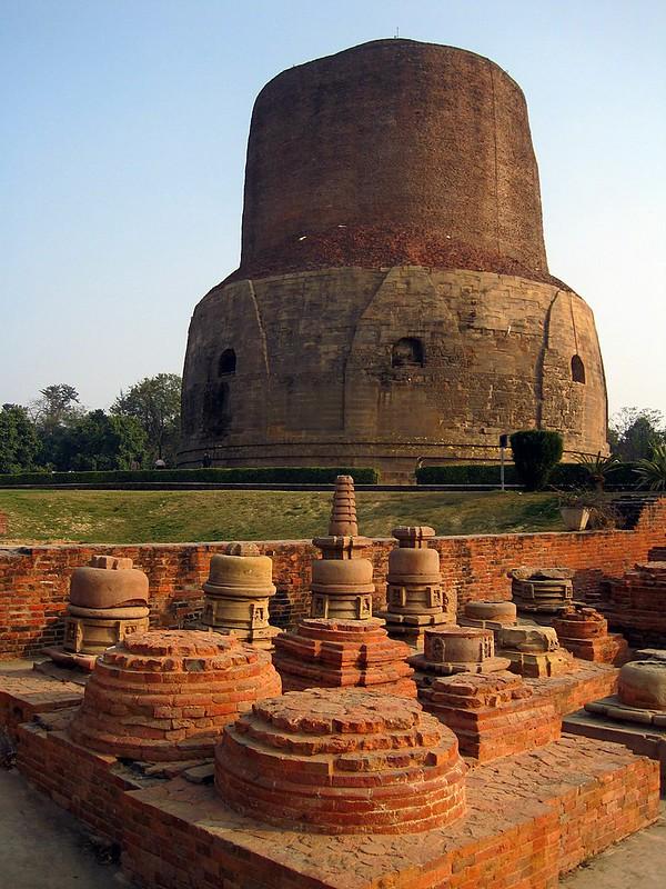 Sarnath - Dhamek Stupa
