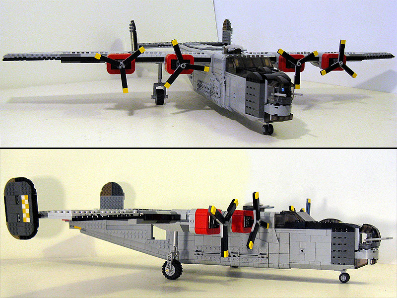 B-24 Liberator | The landing gear will have to be fixed  Get
