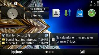 No Calendar Entries