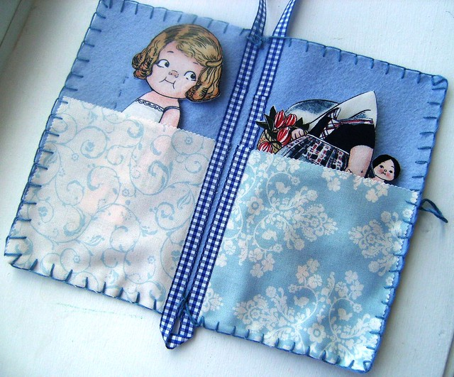 holland fabric paper doll gift set 2