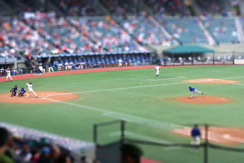 Baseball Tiltshift | by PaulHorner