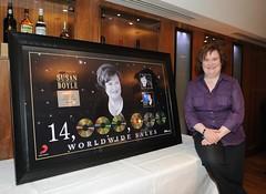 2011. január 21. 21:13 - Susan Boyle: 14 millió eladott album 14 hónap alatt