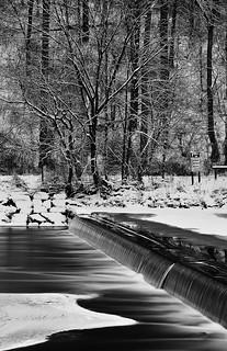 winter dam   by briphi