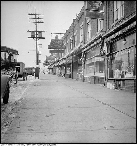 Eglinton Avenue West from Avenue Road | by Toronto History
