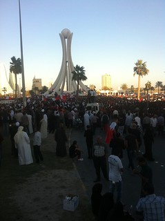 The Taking of Pearl Roundabout   by malyousif