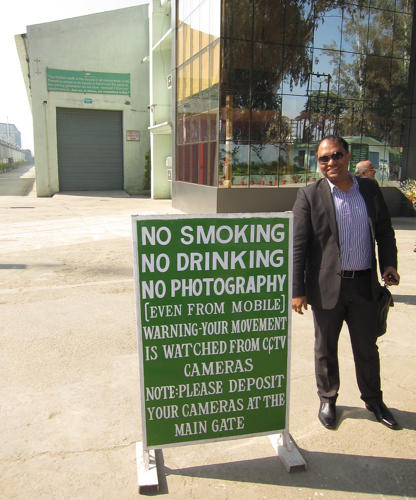 No Smoking No Drinking No Photography | Up in Roorkee, India