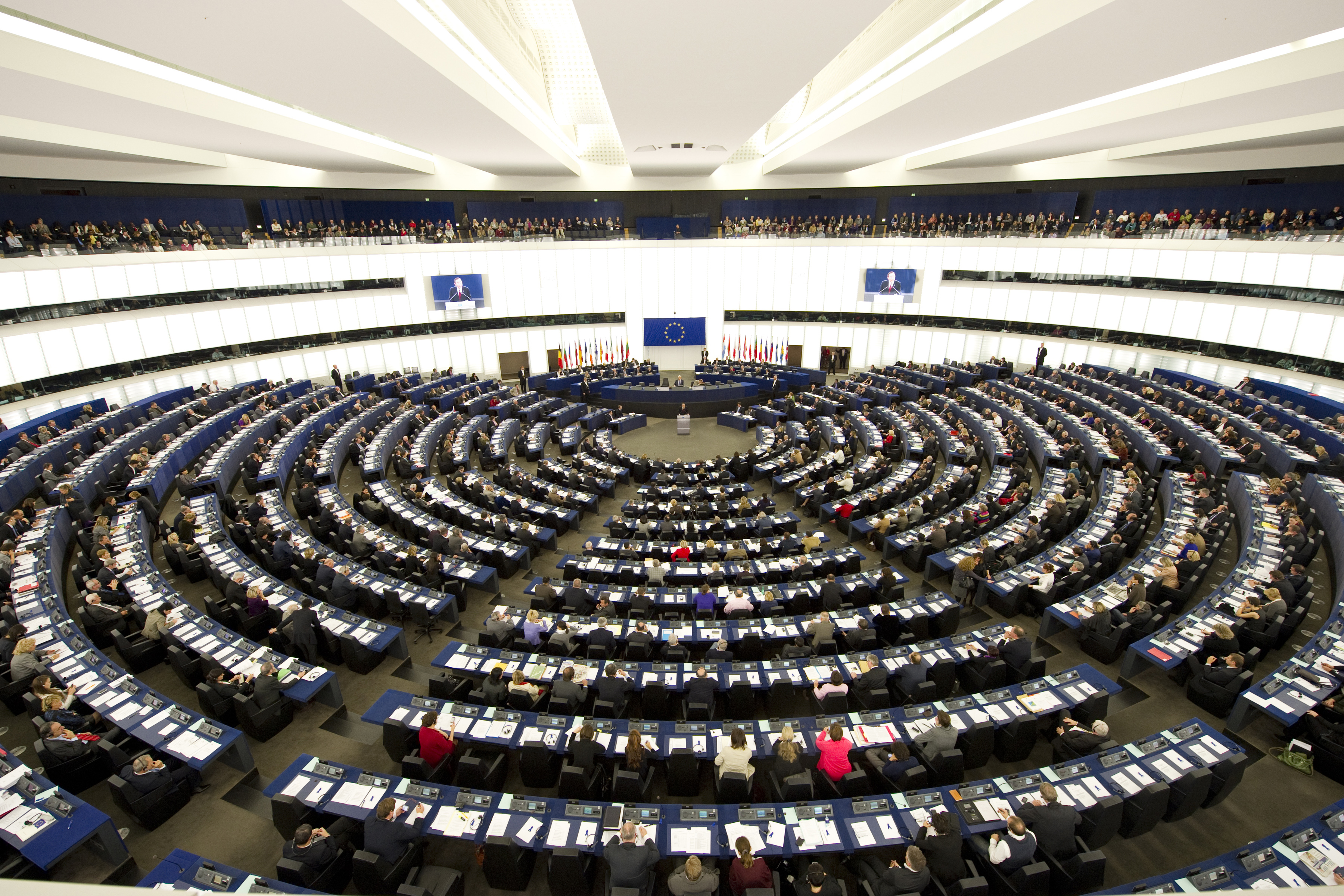 Secretary-General Addresses European Parliament on Anniversary of Rights Convention