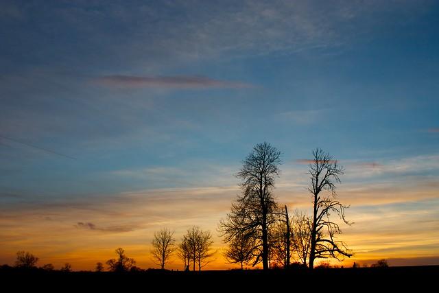Foscott sunset