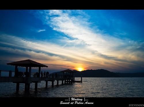 sunset penang 2011 pulauaman