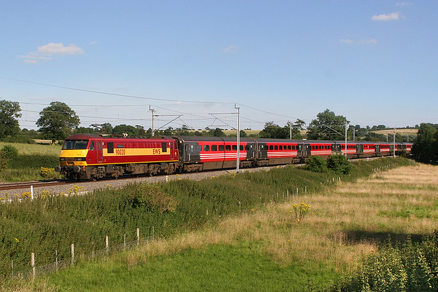 90020 on 1G21 at the Toft.