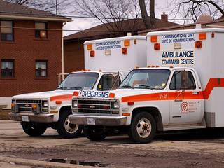 1980s Chevy Ambulances