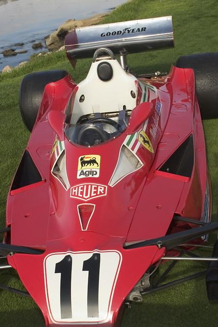 1977 Nikki Lauda Ferrari 312 T6 (#11). 2006 CONCOURS_0167